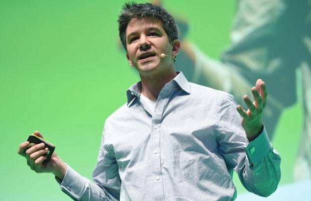 Travis Kalanick, CEO da Uber, avisa afastamento da empresa (Foto: BRITTA PEDERSEN / DPA)
