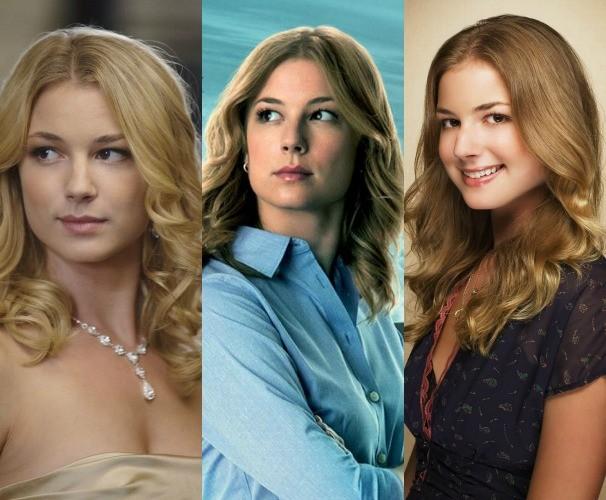 Emily VanCamp em 'Revenge', 'Capitão América 2' e 'Brothers & Sisters' (Foto: Divulgação)