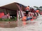 Doze seguem desaparecidos em naufrágio que matou 18 na Tailândia