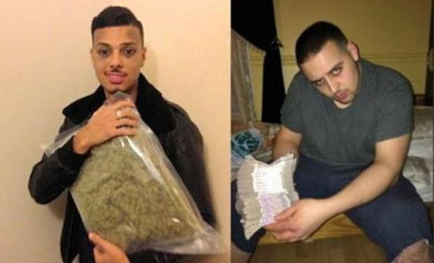 Após 'selfie' com drogas e dinheiro, membros de gangue são condenados (Foto: Metropolitan Police)