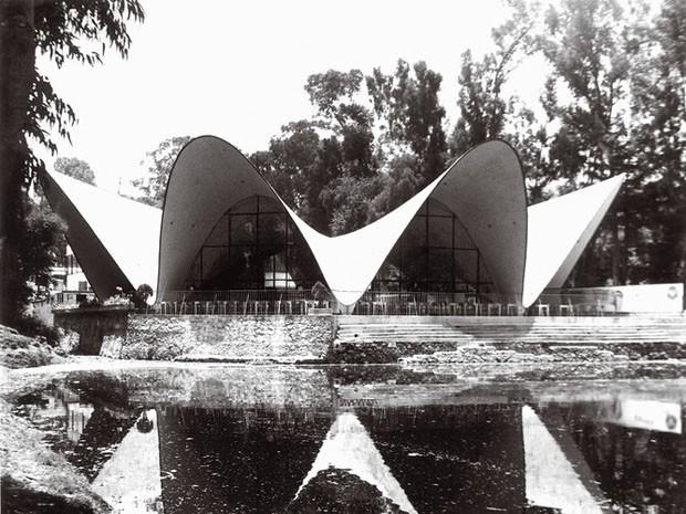 Los Manantiales, Cidade do México, de 1958, desenhado por Félix Candela (Foto: Divulgação)