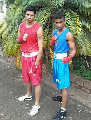 Atletas boxe Regente Feijó (Foto: José Lucas / Arquivo Pessoal)