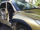 Duas mulheres se ferem em acidente na estrada do Barreiro em Taubaté