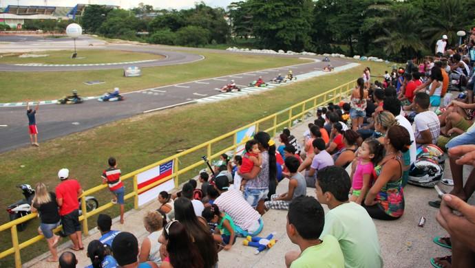 Prova da Fórmula Kart aconteceu neste domingo (28), em Manaus (Foto: Divulgação/Isaac Júnior)
