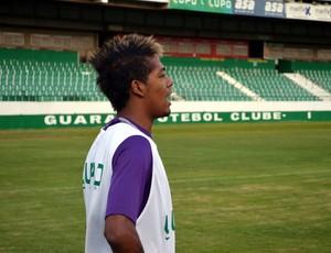 Roninho reforço Guarani (Foto: Marcello Carvalho)
