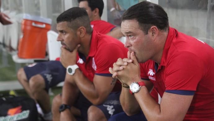Roberto Fernandes - técnico do América-RN (Foto: Fabiano de Oliveira)