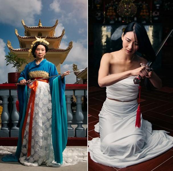 Mulan antes e depois (Foto: Divulgação)