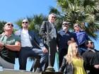 Astros usam tanques de guerra para lançar 'Os mercenários 3' em Cannes