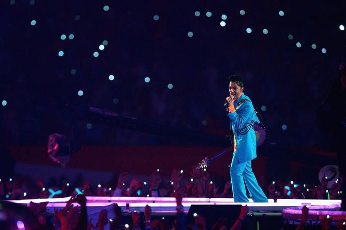 Prince, Super Bowl XLI (Foto: Getty Images)