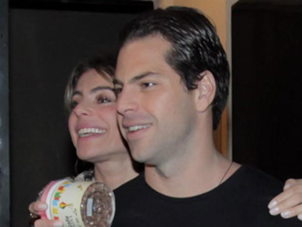 Daniella Cicarelli e o novo namorado, Guilherme Menge (Foto: Marcos Ribas/Brazil News)