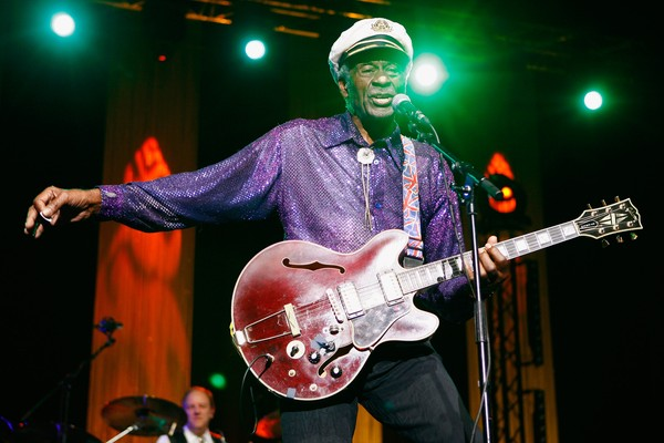 O músico Chuck Berry (1926-2017) (Foto: Getty Images)