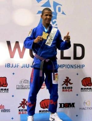 Gregory, lutador de jiu-jítsu do Amazonas (Foto: Divulgação)