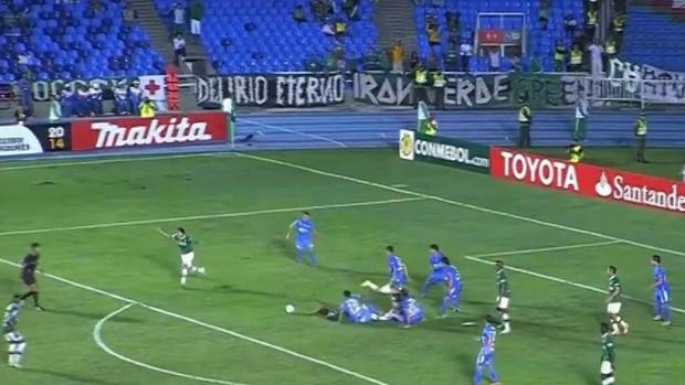 Deportivo Cali O'Higgins Libertadores (Foto: Reprodução SporTV)