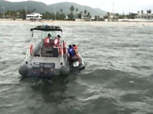 Marinha faz blitz em Santos e Guarujá, SP, e nove são autuados (Foto: Reprodução/TV Tribuna)