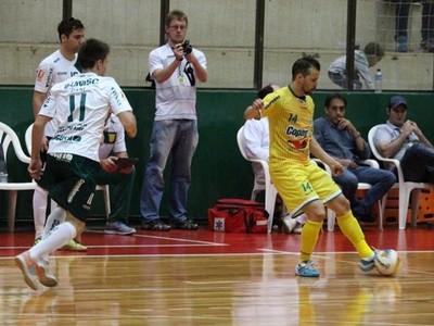 rondon futsal liga nacional (Foto: Divulgação/Site oficial do Copagril)