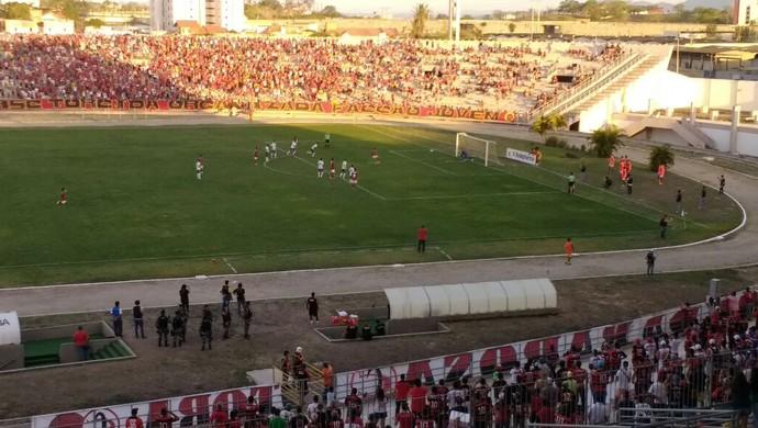Campinense x Serrano, Amigão (Foto: Mário Aguiar / TV Paraíba)