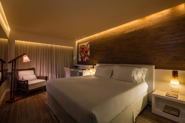 Com perfil fashion, a ambientação do hotel é destaque (Foto: Divulgação)
