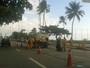 Recife - 7h20: Avenida Boa Viagem tem faixa bloqueada devido a obras
