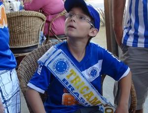 Torcedor torcida Cruzeiro al  (Foto: Viviane Leão/GloboEsporte.com)