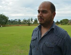 Warditon Dultra, diretor do Rondoniense (Foto: Jheniffer Núbia/GloboEsporte.com)