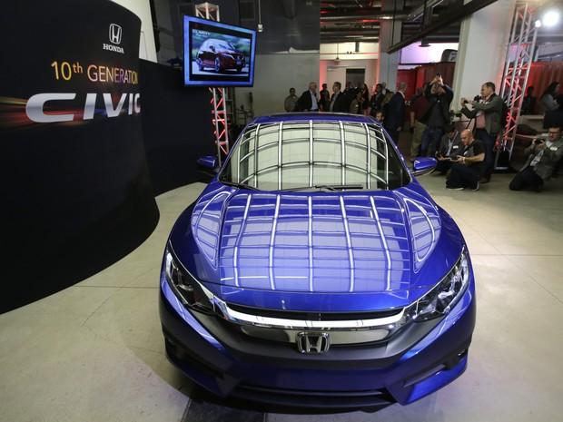 Honda Civic Coupé (Foto: AP Photo/Chris Carlson)