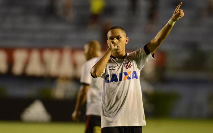 Marcos Guilherme Atlético-PR (Foto: Gustavo Oliveira/ Atlético-PR)