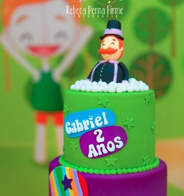 Decoração de festa de Gabriel (Foto: Reprodução)
