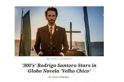 Rodrigo Santoro na 'Variety' (Foto: Reprodução)