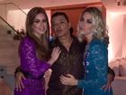 Luma Costa e Marina Ruy Barbosa promovem festa de aniversário no Rio