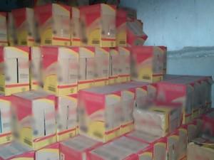 Carga é avaliada em R$ 50 mil, segundo a PM  (Foto: Divulgação/Polícia Militar)