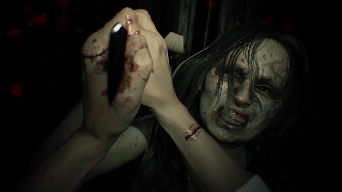 Resident Evil 7: Biohazard é o capítulo mais violento da franquia com amputações e outros ferimentos em sua perturbadora nova visão em primeira pessoa (Foto: Reprodução/Giant Bomb)