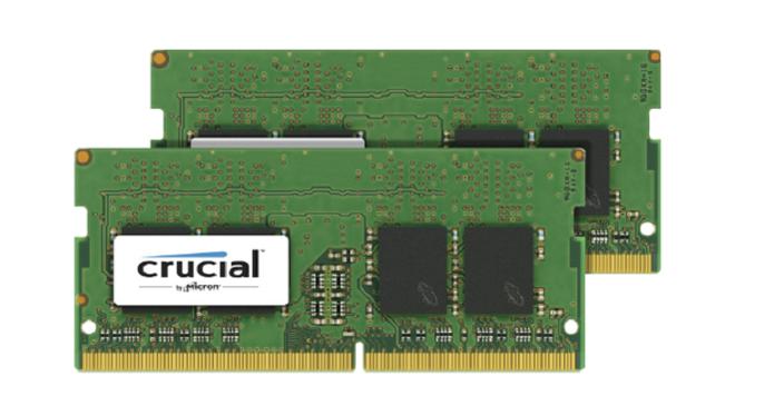 Memórias DDR4 são mais econômicas, reduzindo o consumo de bateria em notebook. Na imagem, uma DDR4 SODIMM da Crucial (Foto: Divulgação/Crucial)