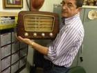 Delegado coleciona rádios antigos em distrito policial de Fortaleza