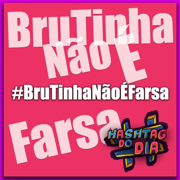 #HashtagDoDia: BruTinha Não É Farsa (Foto: Malhação / TV Globo)