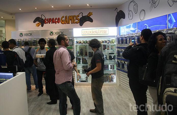 Novo espaço da PlayStation reúne fãs na Zona Norte do Rio  (Foto: Felipe Vinha/TechTudo)