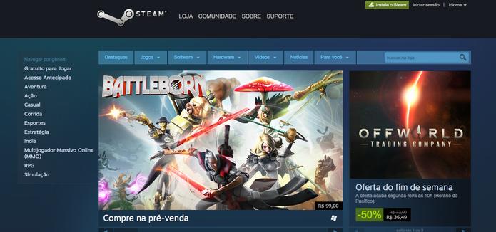 Golpe no Steam rouba credenciais e dados pessoais do jogador (Foto: Reprodução/Felipe Vinha)