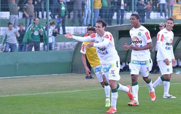 Jogador gol Chapecoense (Foto: Junior Matiello / Ag. Estado)