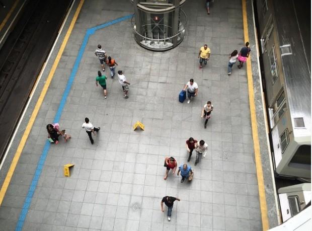 Metrô de São Paulo - Estação Sé (Foto:  Paulo Pinto/ Fotos Públicas)