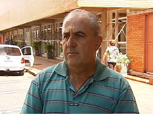 Tio do Ken Humano, Manoel Messias Borges, em Uberlândia (Foto: Reprodução/TV Integração)