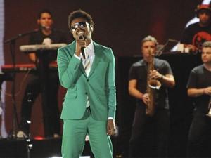 Seu Jorge durante show em Salvador, em março deste ano (Foto: Eduardo Freire/Divulgação/Ag. Edgar de Souza)