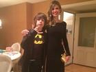 Luciana Gimenez e o filho mostram looks para aniversário de Mick Jagger
