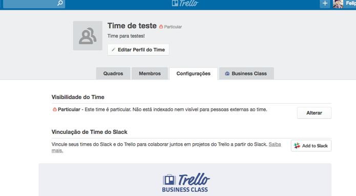 Como deletar times no Trello (Foto: Reprodução/Felipe Vinha)