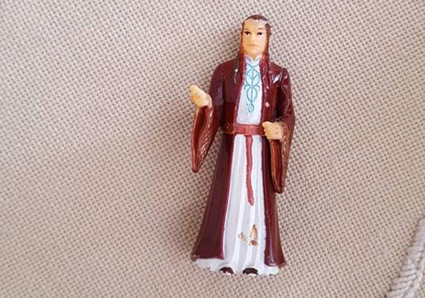 Elrond que foi confundido com Santo Antônio (Foto: Reprodução/Facebook)