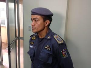 Comandante-geral da PM Aclemildo Barbosa (Foto: Abinoan Santiago/G1)