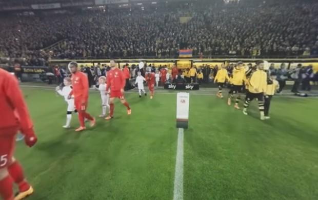 BLOG: Gira tudo! Veja os melhores momentos de Borussia x Bayern na câmera 360º