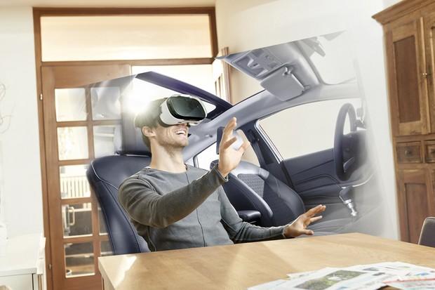 Ford explora o uso de realidade aumentada em test-drives (Foto: Divulgação)