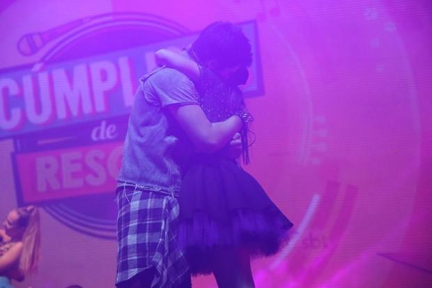 Larissa Manoela e João Guilherme (Foto: Daniel Pinheiro/Agnews)