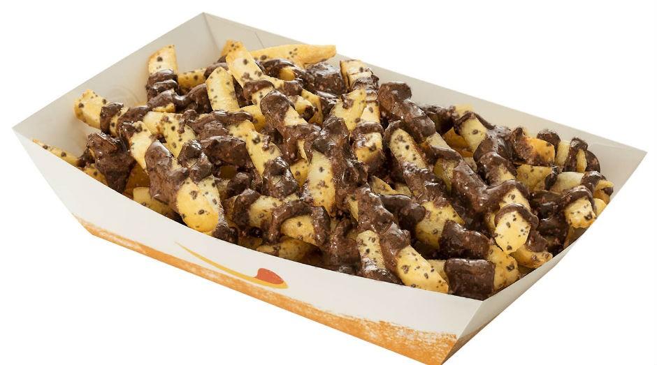 A novidade do Burger King chama-se Chocofritas Ovomaltine  (Foto: Divulgação)