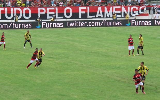 Elias Flamengo x Volta Redonda (Foto: Richard Souza)