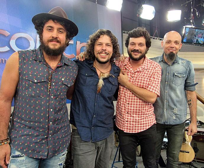 Suricato venceu o prêmio de Melhor Álbum de Rock Brasileiro  (Foto: Gshow)